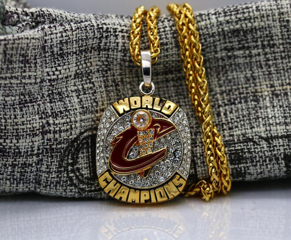 Cleveland Cavaliers Championship Ring Pendant/Necklace (2016) - Premium Series