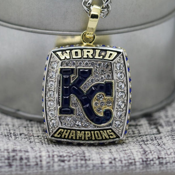 Kansas City Royals World Series Pendant/Necklace (2015) - Premium Series