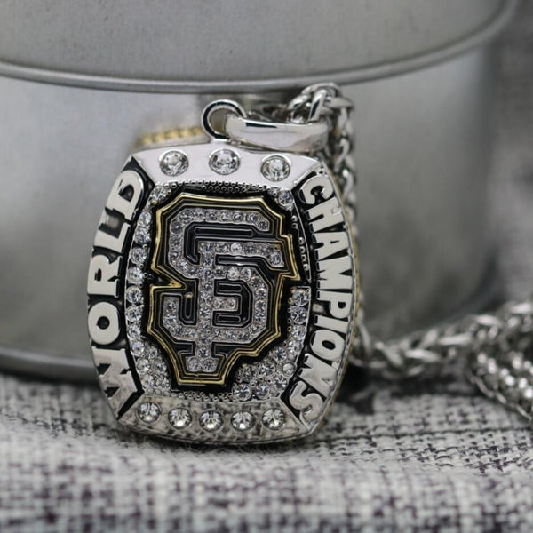 San Francisco Giants World Series Pendant/Necklace (2014) - Premium Series