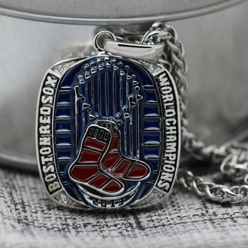 Boston Red Sox World Series Pendant/Necklace (2013) - Premium Series