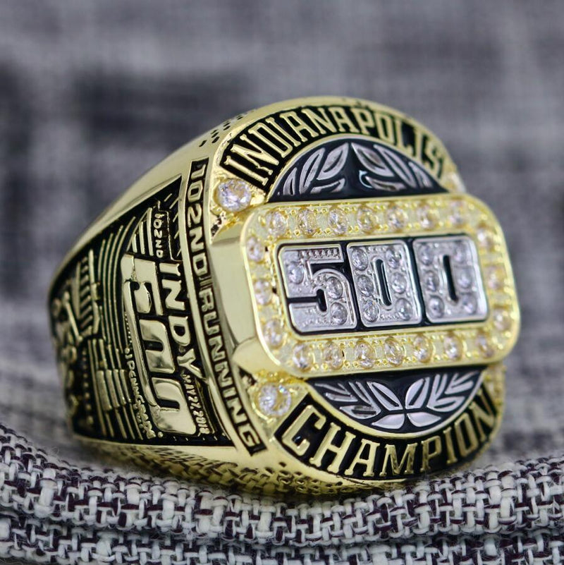 2018 Indianapolis 500 Championship Ring - Premium Series - foxfans.myshopify.com