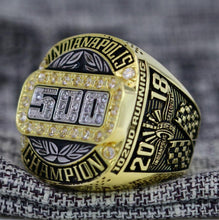 Load image into Gallery viewer, 2018 Indianapolis 500 Championship Ring - Premium Series - foxfans.myshopify.com