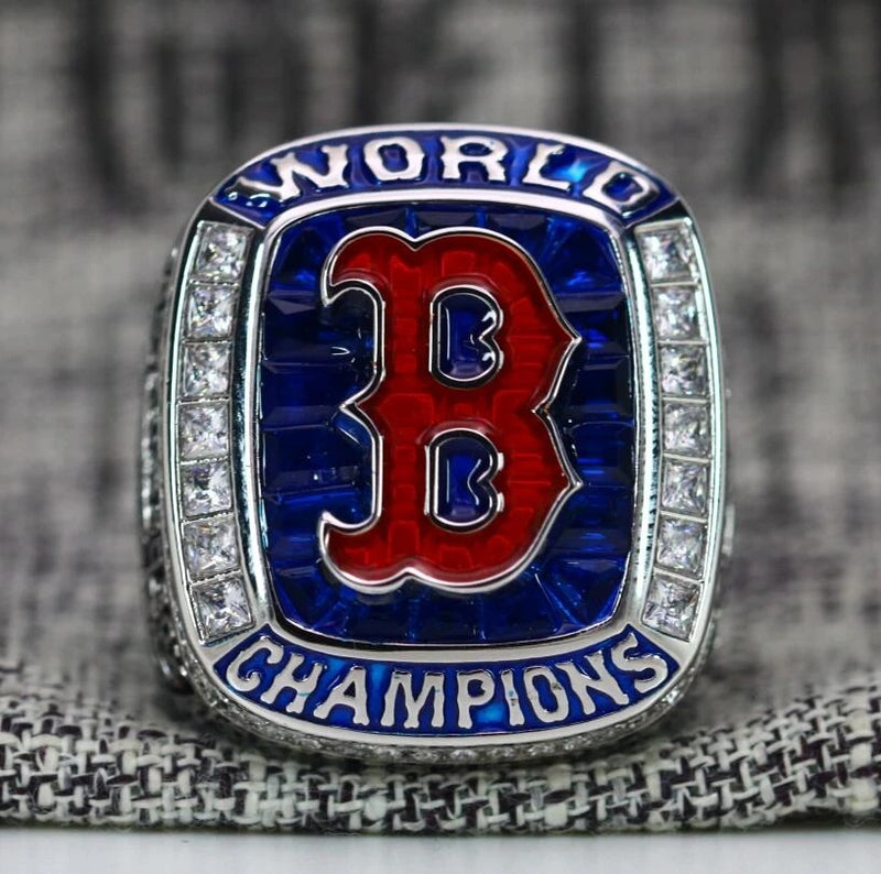 2018 Boston Red Sox MLB World Series Championship Ring - Premium Series - foxfans.myshopify.com