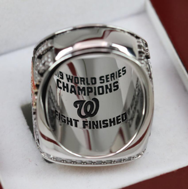 2019 Washington Nationals World Series Fan Ring - Premium Series - foxfans.myshopify.com