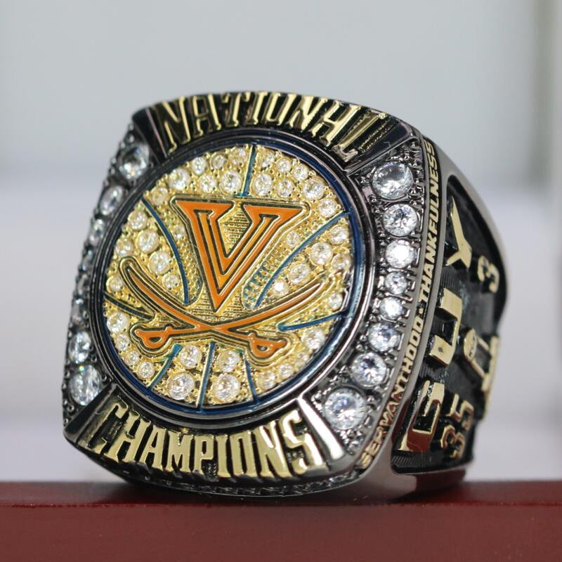 2019 Virginia Cavaliers College Basketball National Championship Ring  - Premium Series - foxfans.myshopify.com