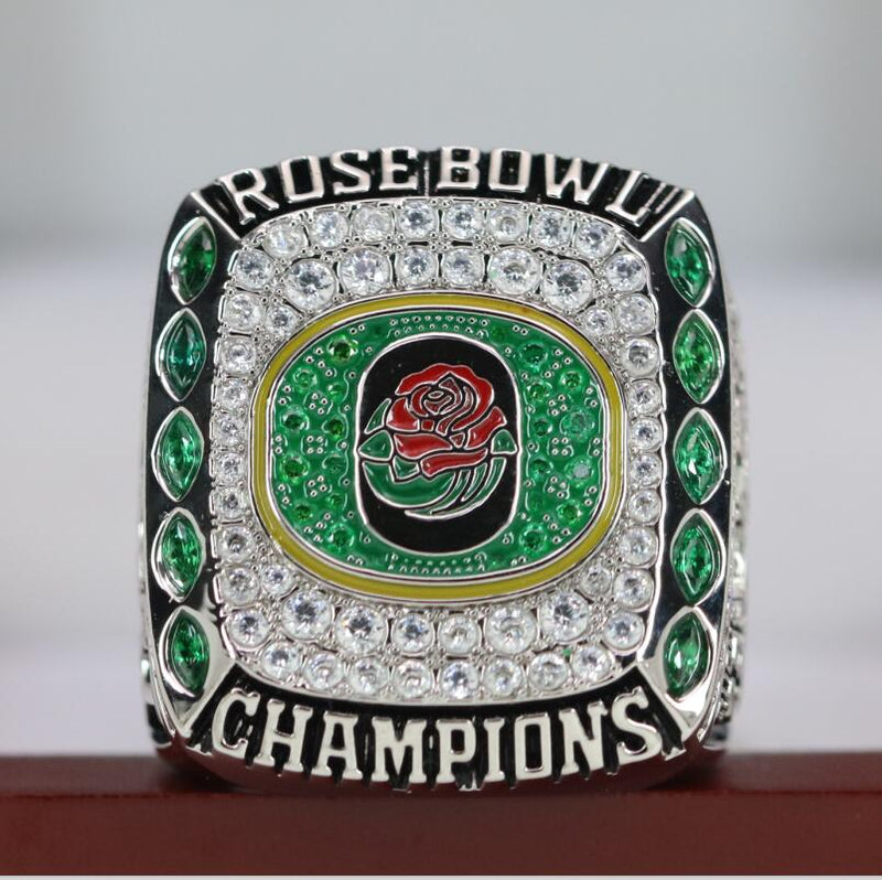 2019 Oregon Ducks College Football Rose Bowl Championship Ring - Premium Series - foxfans.myshopify.com