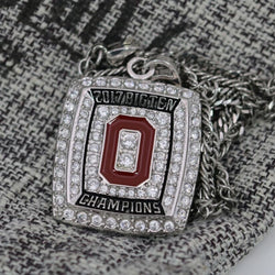 Ohio State Buckeyes Big 10 Championship Pendant/Necklace (2017) - Premium Series