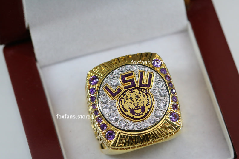 2019 Louisiana State University (LSU) College Football SEC Championship Ring - Premium Series