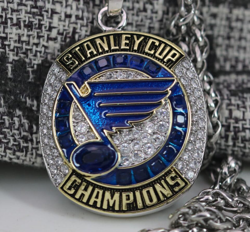 St. Louis Blues Stanley Cup Championship Pendant/Necklace (2019) - Premium Series