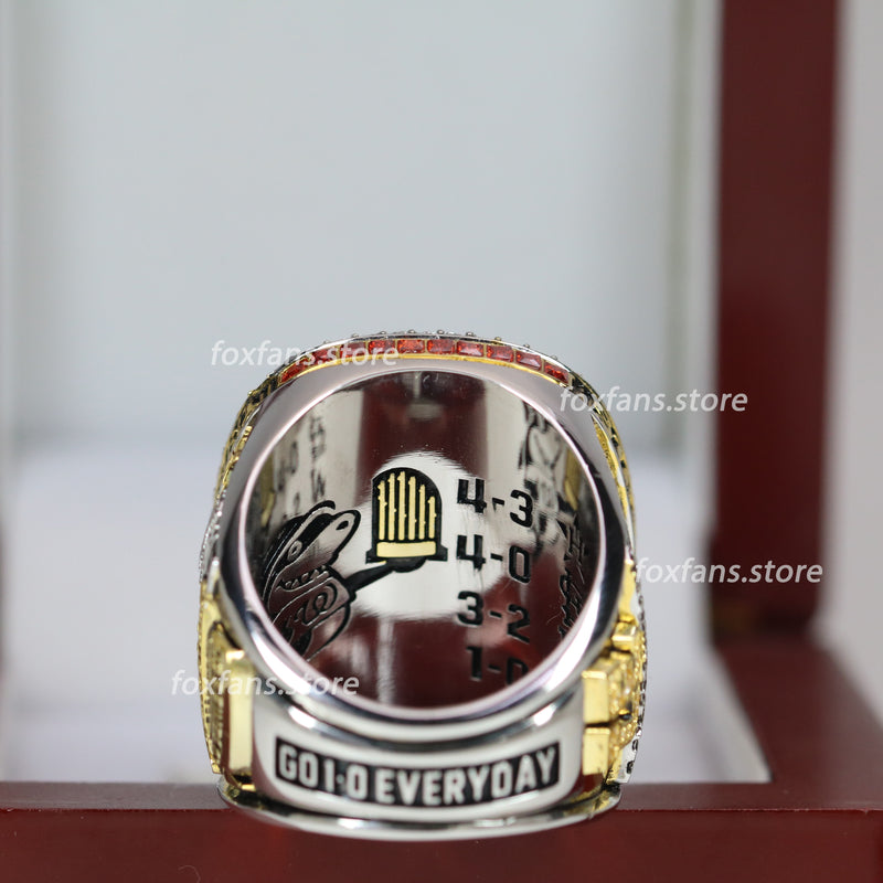 2019 Washington Nationals Official World Series Ring - Premium Series