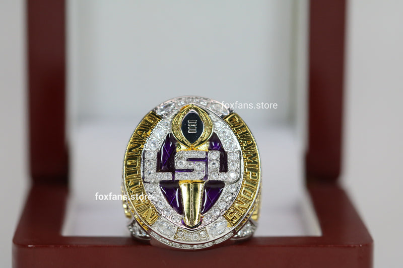 2019 Louisiana State University (LSU) College Football National Championship Rings- Premium Series
