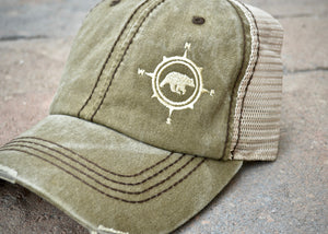 Compass Bear Hats