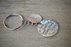 Two-tone Keychain