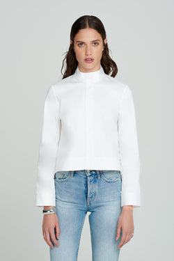 Raisman Cropped Shirt - Même Chose