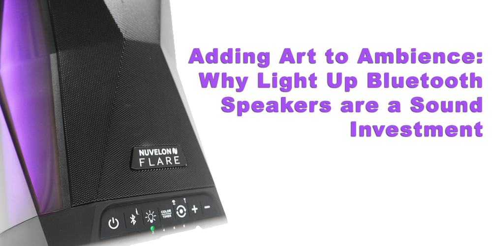Adding Art to Ambience: Why Light Up Bluetooth Speakers are a Sound Investment