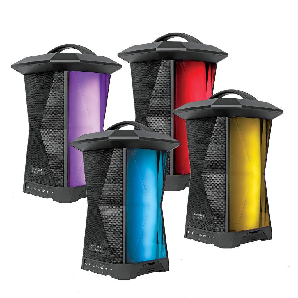 Nuvelon FLARE Indoor / Outdoor Bluetooth Speaker 4-Pack