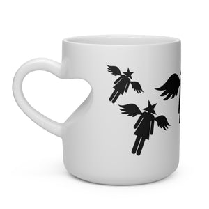 human://Starhead Heart Shaped Mug