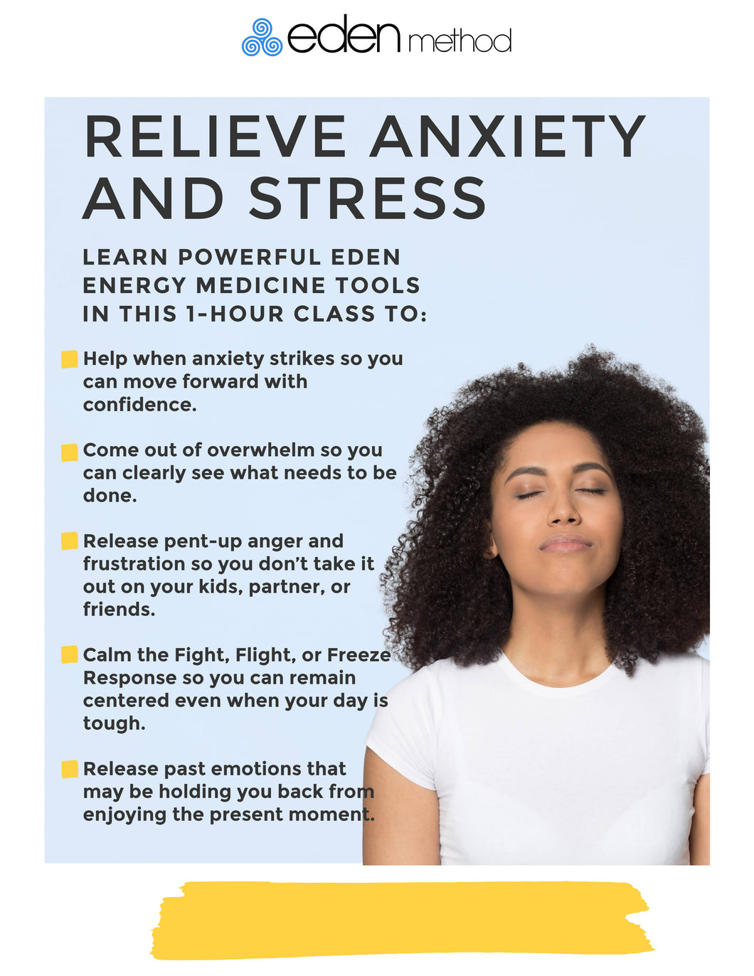Calming Stress & Anxiety with Energy Medicine