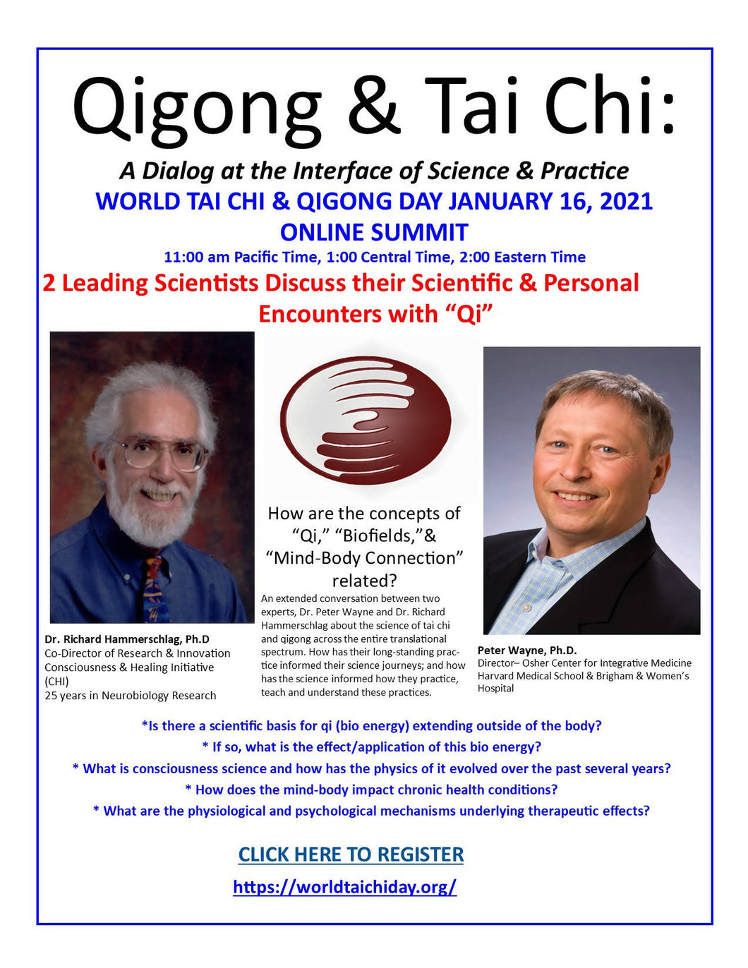 WTCQD January 2021 Online Summit