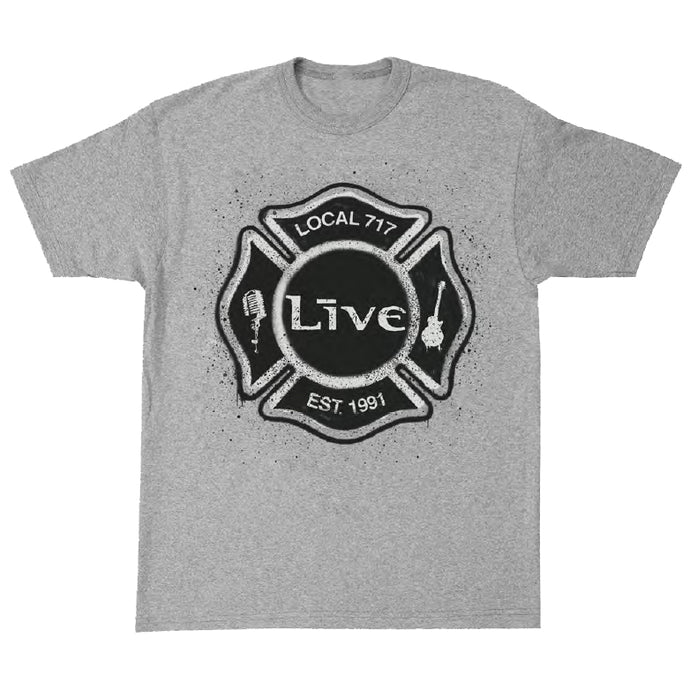 Local 717 Tee (Heather Gray)