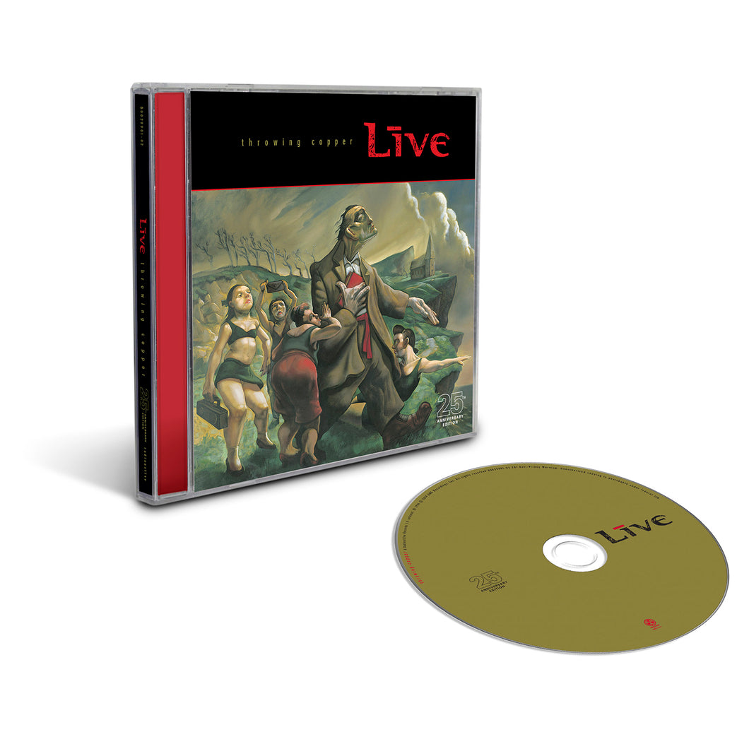 Throwing Copper 25th Anniversary (CD)