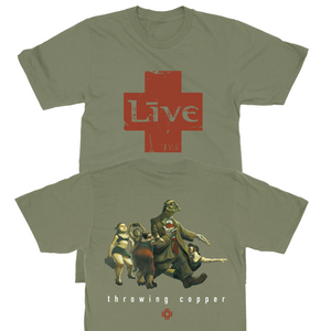 TC25 Cover Art Tour Tee (Olive)
