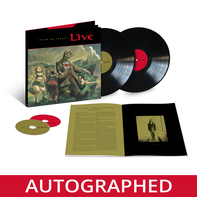 AUTOGRAPHED - Throwing Copper Super Deluxe 25th Anniversary Edition Box Set (2LP+2CD)