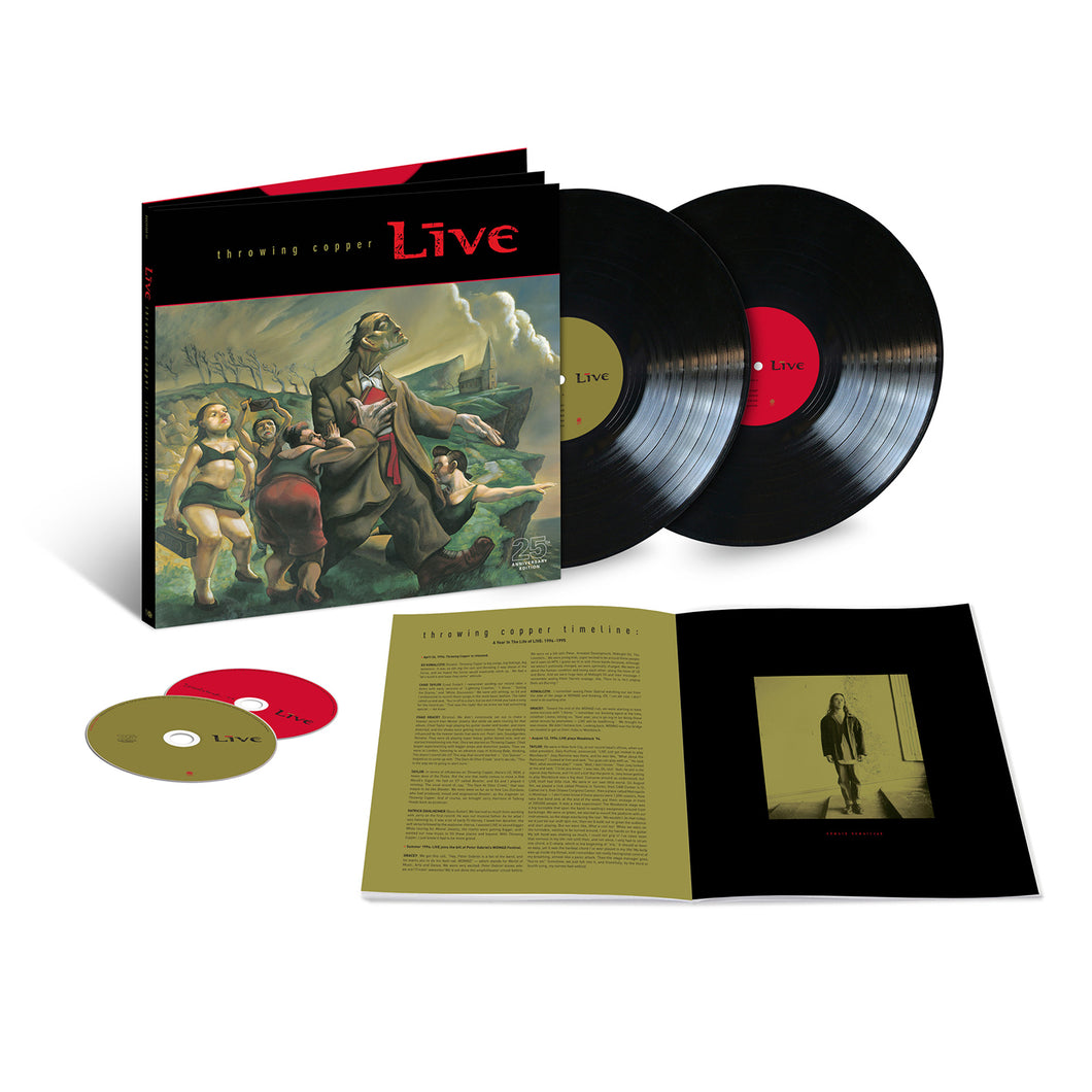 Throwing Copper Super Deluxe 25th Anniversary Edition Box Set (2LP+2CD)