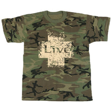 Load image into Gallery viewer, Camo Tour Tee