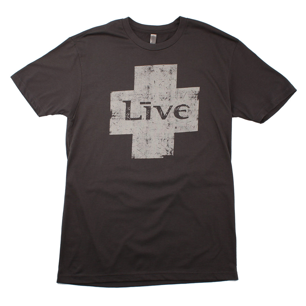 Live Logo Discharge Ink (Charcoal)