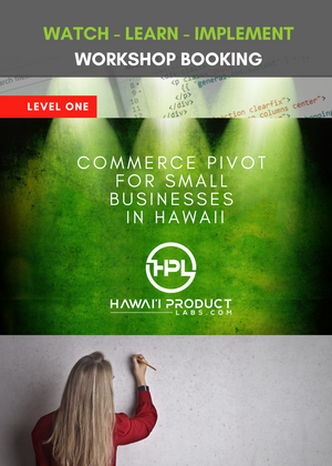 Level 1 Training Full Course - Pivot For Small Businesses In Hawaii