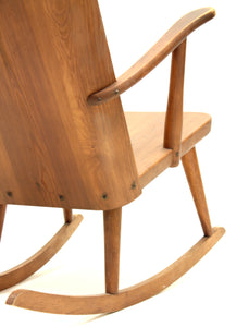 Pine Rocking Chair by Göran Malmvall in the Svensk Fur Range for Karl Andersson