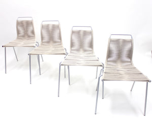 PK1 Chairs by Poul Kjærholm for Thorsen Møbler, Set of 4