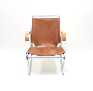 Early B35 Chair by Marcel Breuer for Thonet, 1930s