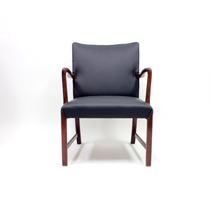 Danish 1756 Easy Chair by Ole Wanscher for Fritz Hansen, 1940s