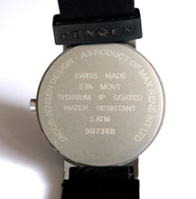 Load image into Gallery viewer, Jacob Jensen / Max René quartz watch, 36mm, 1990s