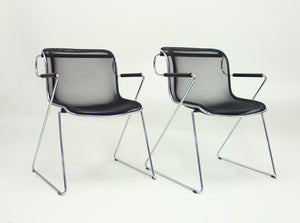 Penelope chair by Charles Pollock for Castelli, set of 2