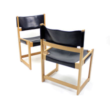 Load image into Gallery viewer, Sven Kai Larsen chairs for Nordiska Kompaniet, set of 2
