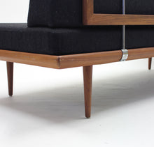 Load image into Gallery viewer, Peter Hvidt & Orla Mølgaard, Minerva sofa/daybed, France & søn, 1960s