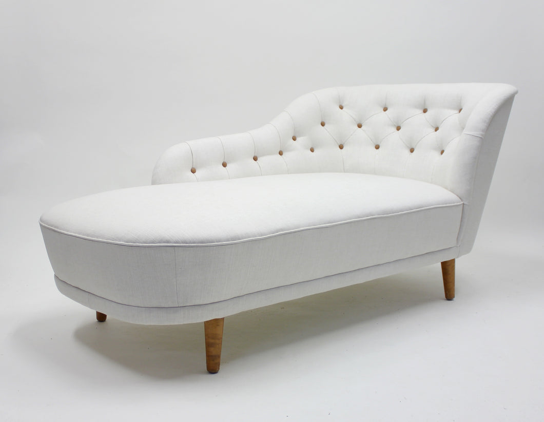 Rare Chaise lounge, attributed to Greta Magnusson Grossman, 1940s