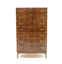 Load image into Gallery viewer, Mid-Century Curved Walnut Dresser, 1950s