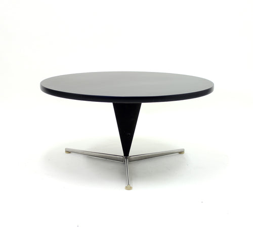 Early Cone Table by Verner Panton for Plus-Linje, 1950s
