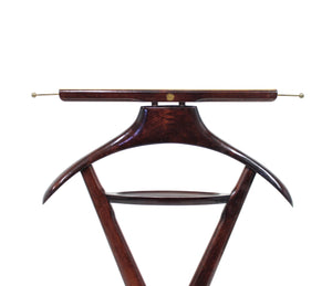 Mahogany Valet by Ico Parisi for Fratelli Reguitti, 1950s