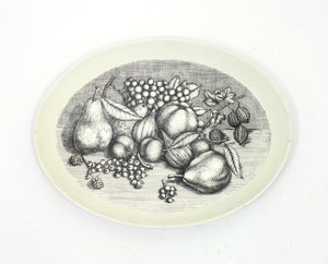 Vintage Tray with Fruit Motif by Atelier Fornasetti, 1970s