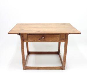 Rustic mid 19th century antique Swedish pine table