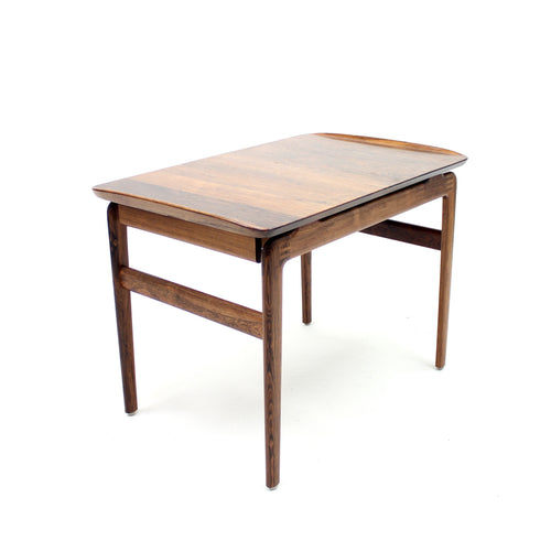 Rosewood Side Table by Peter Hvidt & Orla Mølgaard-Nielsen for France & Søn, 1950s