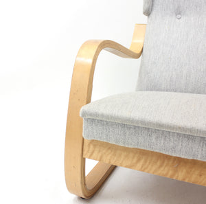 A very special model 36/401 easy chair by Alvar Aalto for Artek, Hedemora, ca 1950