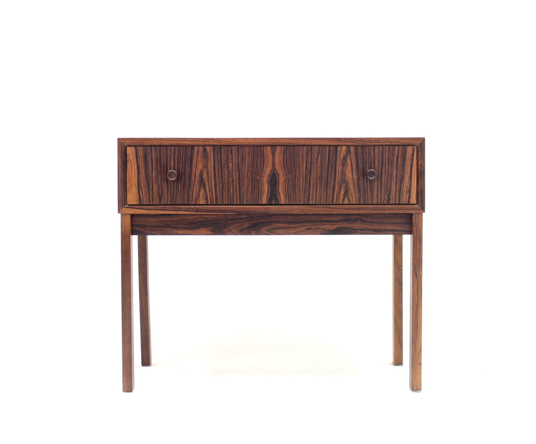 Small Scandinavian Rosewood Chest of Drawers, 1960s