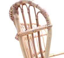 Load image into Gallery viewer, Viggo Boesen, bamboo & rattan easy chair, 1960s