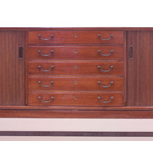 Load image into Gallery viewer, Ole Wanscher mahogany sideboard, A.J. Iversen, 1940s